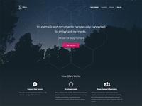 Gluru Landing Page