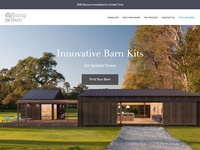 Rising Barn Landing Page