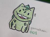 #001 - Bulbasaur