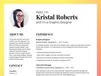 Kristal Roberts Resume