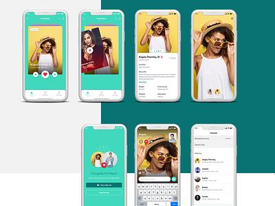 Vepye - Dating App matches datingapp mobile app development uiux uidesign ui app