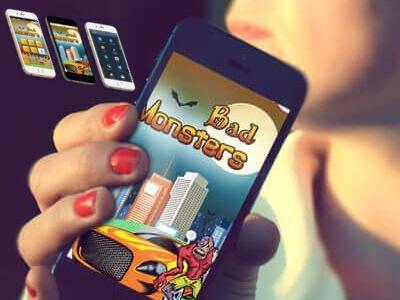 Bad Monsters iphone app development mobile app development app development android app development