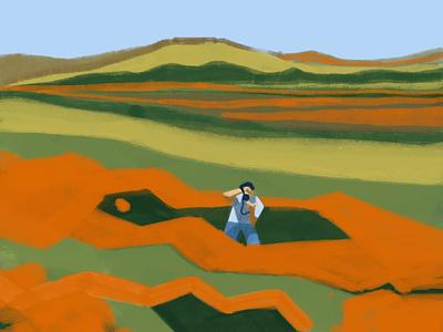 Poppy Fields illustration