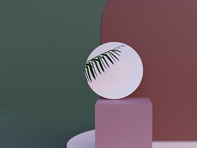 Geometric Exploration #1 illustration blender 3d