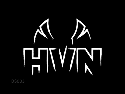 Logo Design | HVN (EDM Band) logo design branding heaven hvn wings phoenix dj band edm music logo