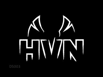 Logo Design | HVN (EDM Band) logo design branding heaven hvn wings phoenix dj band edm music logo