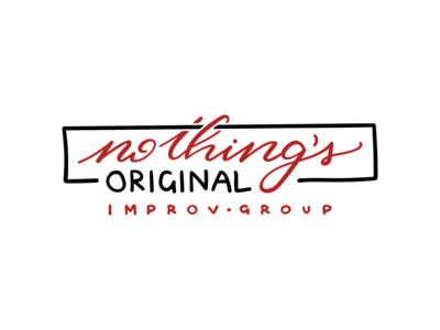 Logo Design | Nothing's Original Improv Group
