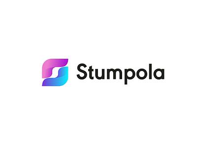 Stumpola s icon symbol mark logotype logo