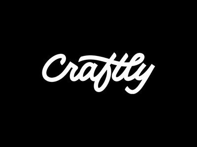 Craftly sketch style greattype handwritten handtype script designer design type lettering logotype logo