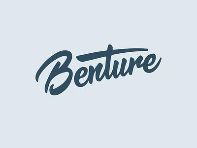 Benture vol.2 sketch style greattype bestoflettering calligram handwritten handtype script type lettering logotype logo