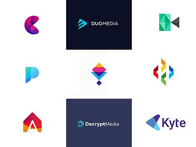 App Color Logos gradient symbol icon color app coloful logotype logo