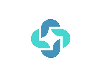 medical  symbol illustration blue logotype logo cross medical