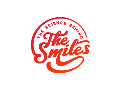 The Smiles script smile typeface letter typo lettering typography