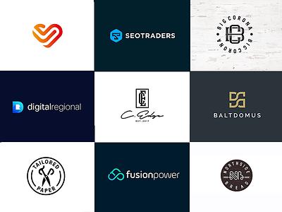 Monograms 2019 typo typography monogram letter lettering logotype logo