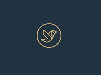 bird 2 blue design logotype logo