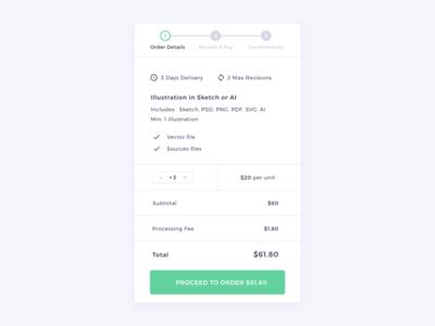 Order Details | HexGig Order Flow