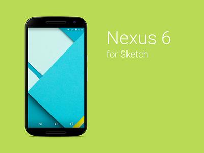 Nexus 6 Sketch Freebie device android nexus nexus 6 free sketch gui