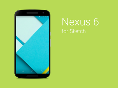 Nexus 6 Sketch Freebie device android nexus nexus 6 free sketch gui