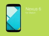 Nexus 6 Sketch Freebie
