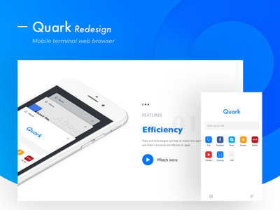 Everything about quark minimalism,browser clean app blog colors grid typography type