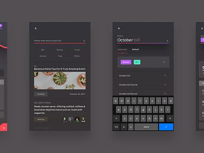 UI exercises #18/100 aep type typography grid colors blog app clean minimalism,browser