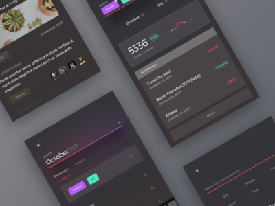 UI exercises #21/100 minimalism,browser clean app blog colors grid typography type aep