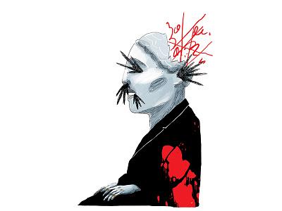 Nightmare editorial psychoanalyst existence philosopy nightmare bertrand russell book drawing illustration