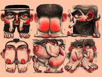 Human Nature artwork artist character design animation 2d drawing illustration