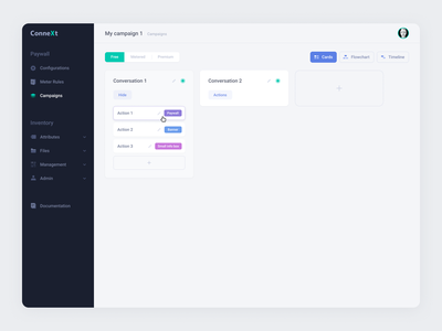Paywall configuration ux interface ui
