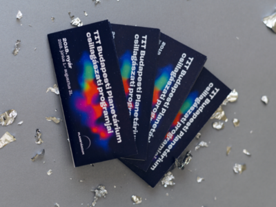 Program booklet of the Planetarium Budapest