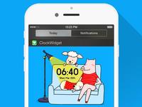 LineDeco Clock Widget