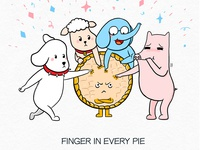 Finger in every pie