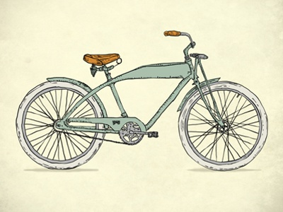 Retro-bicycles (1903) bicycles bike illustration