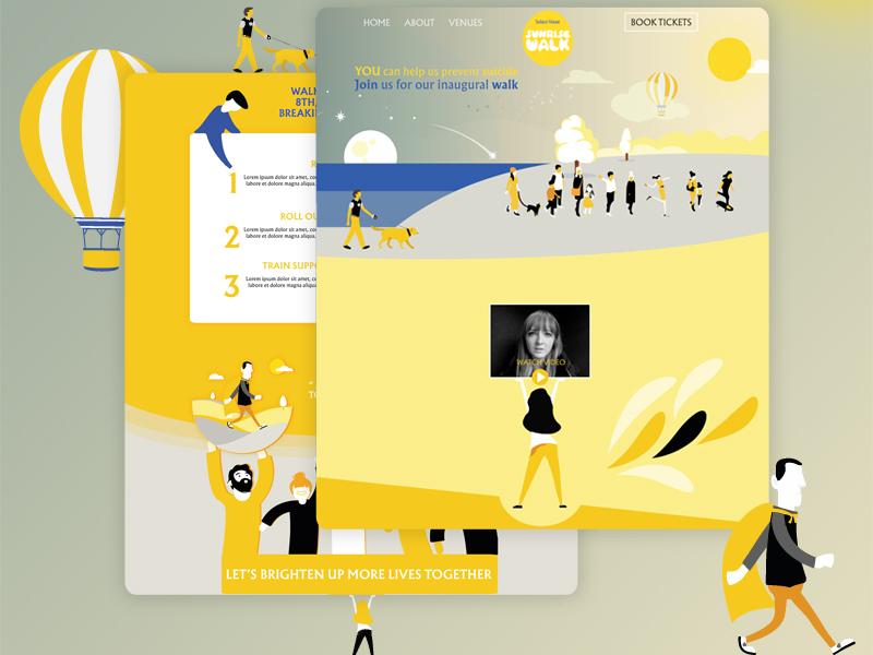 Suicide Prevention Campaign Landing Page