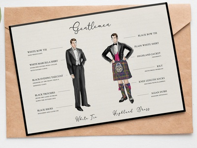 Royal Caledonian Ball dresscode: boys