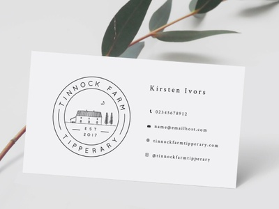 Tinnock Business Card