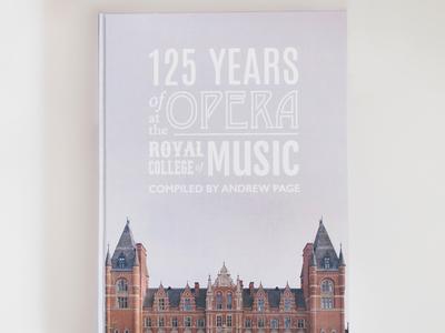 Book cover: opera