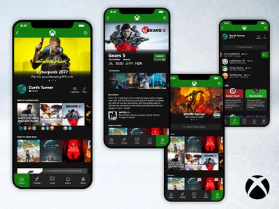 Xbox Mobile App [Concept] v2