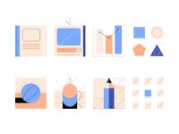 azul recreo's iconography