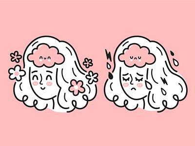 Positive and negative mind positive