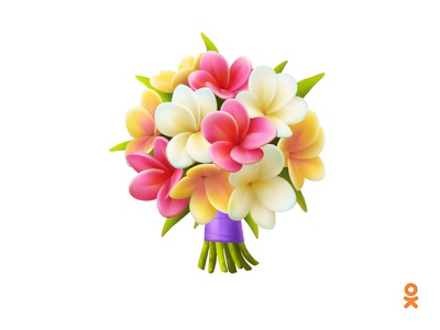 Plumeria (for ok.ru) bouquet tropical tropic spa apocynaceae plumeria