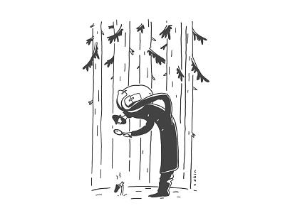 toadstool poisonous forest wood mushroom doodle ink inktober2018 inktober toadstool