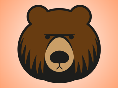 Grumpy bear logo