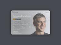 Google ID v2 (platinum)