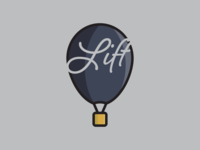 Daily Logo Challenge Hot Air Balloon
