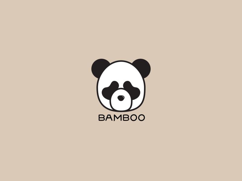 Panda Logo // Daily Logo Challenge Day 3 pandalogo panda logodesigns logodesigner logodesign logo dailylogochallange