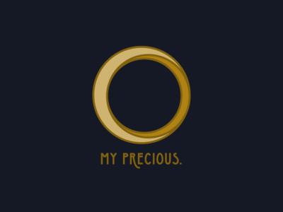 Ring Logo for Gollum