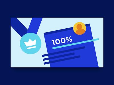 Upwork Job Success Score profile win medal score freelance upwork illustration header blog