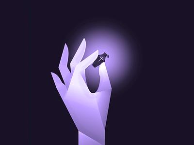 Poisonous | Vectober #1 inktober2018 coffin bottle drip vile vectober inktober hand poison