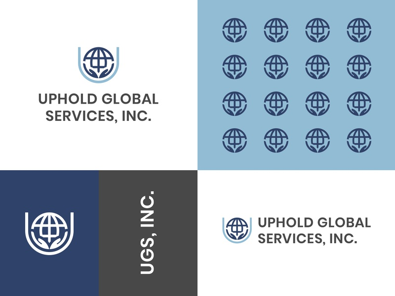 Uphold Global Services, Inc. Final Logo vector minimal logo illustrator illustration icon flat design branding art